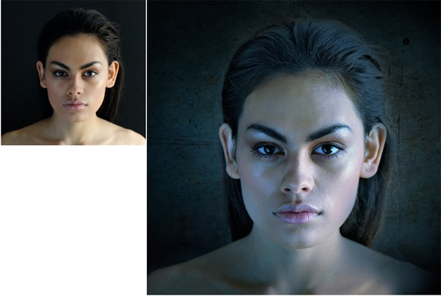 Photoshop Effects to mimic studio lighting for stylish portraits