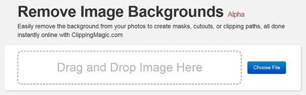 Remove image background in photos