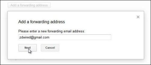 Auto-forwarding emails from Gmail_1