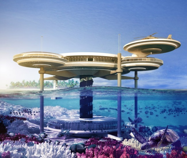 World's Amazing Futuristic Underwater Resort Hotels | ZDWired