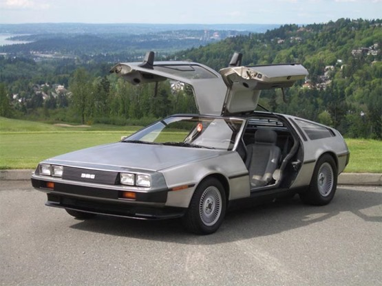 DeLorean DMC-12 - DeLorean time machine