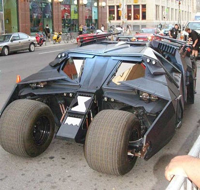 The Tumbler - The Dark Knight movies