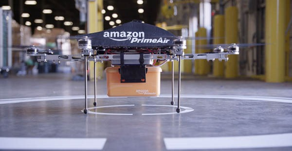 Amazon Prime Air package delivery system