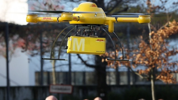 Germany DHL drone delivery testing