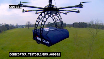 5 Surprising Examples of Drones Used in Domestic Delivery