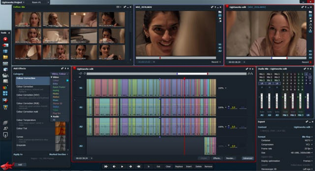 Lightworks professional video editor
